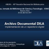 Archivo Documental DILA - Presentación 8va JOBICyT 25-04.pdf
