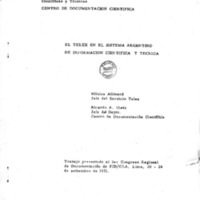 El telex en el sistema argentino de informacion cientifica y tecnica - M. Allmand, R.Gietz.pdf