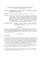 Aproximación a una crítica sobre los modelos de gestión bibliotecológica vigentes