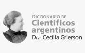 Directorio de científicos Argentinos, Dra. Grierson
