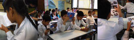 """Participación del DILA en la producción de la revista escolar """"L@s de la 11. Una escuela con raíces"""""""