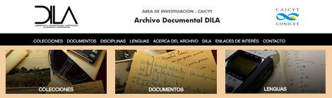 Puesta online del Repositorio Digital del Archivo Documental DILA