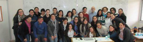 La Dra. Analía Gutiérrez, Profesora Invitada de la Facultad de Humanidades de la Universidad Nacional de Formosa