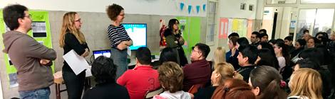 Día del Respeto a la Diversidad Cultural: actividades del DILA en el CENS Nº 6