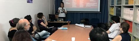 """Se realizó la charla """"La diversidad lingüística y los procesos de castellanización en las tierras bajas de Bolivia"""", a cargo de la Dra. Swintha Danielsen"""