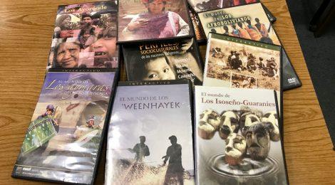 Donación de la Dra. Swintha Danielsen de DVDs sobre pueblos indígenas de Bolivia