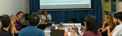 """Se realizó el taller """"Hacer un diccionario de una lengua indígena: posibilidades y flujo de trabajo"""", a cargo de la Dra. Swintha Danielsen"""