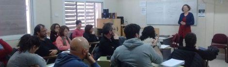 Se realizó el seminario de Teoría Fonológica a cargo de la Dra. Analía Gutiérrez en la Universidad Nacional del Comahue