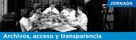 """Participación del Área de Investigación-DILA en la jornada """"Archivos, acceso y transparencia"""""""