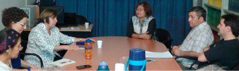 Charla de la Dra. Emiliana Cruz (CIESAS, CDMX) en CAICYT