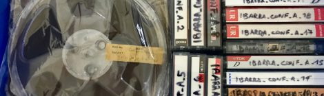 Se completó la digitalización del material en audio del Fondo Documental de Dick Edgar Ibarra Grasso