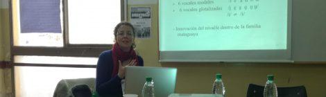 Participación del Área de Investigación en las VI Jornadas Internacionales de Fonética y Fonología organizadas por la Facultad de Humanidades y Ciencias Sociales - UNaM