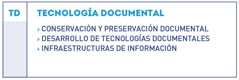 organigrama tecnología documental