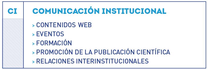 organigrama comunicación institucional