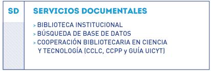 organigrama servicios documentales