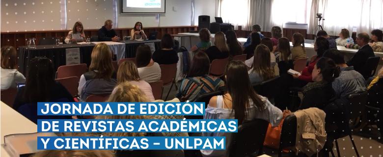 Jornada de edición de revistas académicas y científicas – UNLPAM