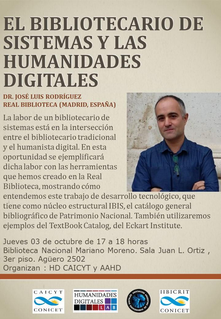 El bibliotecario de sistemas y las Humanidades Digitales