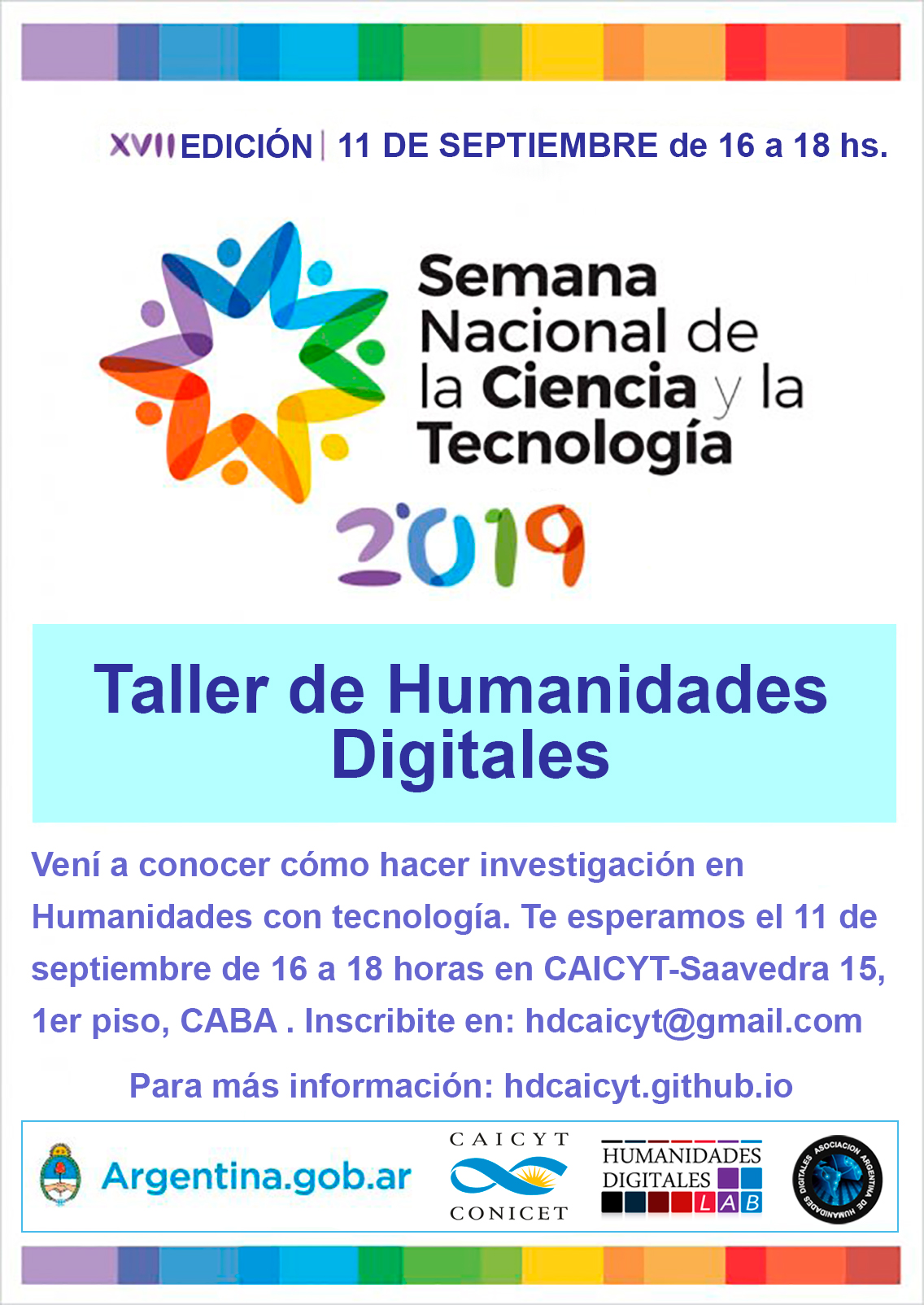 Taller de Humanidades Digitales